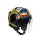 Каска за скутер AGV ORBYT E2205 TOP - DREAMTIME