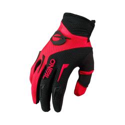 Мотокрос ръкавици O'NEAL ELEMENT RED/BLACK 2021