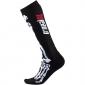 Детски термо чорапи O'NEAL PRO MX XRAY BLACK/WHITE