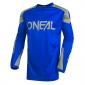 Мотокрос блуза O`NEAL MATRIX RIDEWEAR BLUE/GRAY 2021