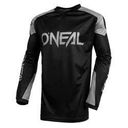 Мотокрос блуза O'NEAL MATRIX RIDEWEAR BLACK/GRAY 2021