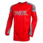 Мотокрос блуза O'NEAL MATRIX RIDEWEAR RED/GRAY 2021