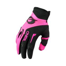 Дамски мотокрос ръкавици O'NEAL ELEMENT BLACK/PINK 2021