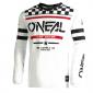 Детска мотокрос блуза O'NEAL ELEMENT SQUADRON V.22-WHITE/BLACK