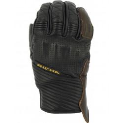 Кожeни мото ръкавици RICHA ARIZONA BLACK/BROWN