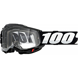 Мотокрос очила 100% ACCURI2 BLACK-CLEAR