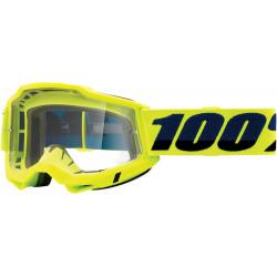 Мотокрос очила 100% ACCURI2 FLUO YELLOW-CLEAR