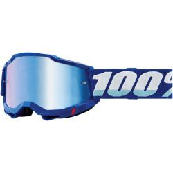 Мотокрос очила 100% ACCURI2 BLUE-MIRROR BLUE
