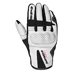 Дамски мото ръкавици SPIDI CHARME 2 BLACK/WHITE