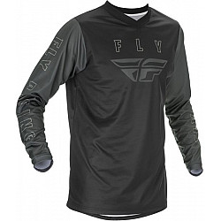 Мотокрос блуза FLY RACING F-16 2.0-BLACK/GREY