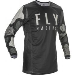 Мотокрос блуза FLY RACING KINETIC K221-BLACK/GREY
