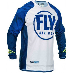 Мотокрос блуза FLY RACING EVOLUTION-BLUE/WHITE