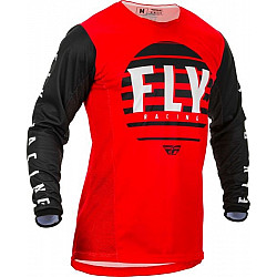 Мотокрос блуза FLY RACING KINETIC K220-BLACK/RED/WHITE