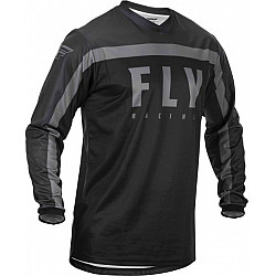 Мотокрос блуза FLY RACING F-16-BLACK/GREY