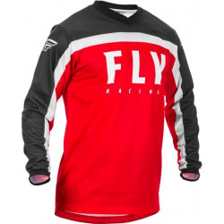 Мотокрос блуза FLY RACING F-16-BLACK/RED/WHITE