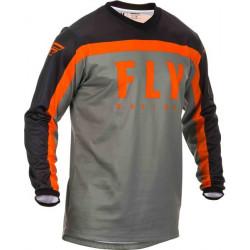 Мотокрос блуза FLY RACING F-16-BLACK/GREY/ORANGE