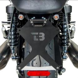 LED мото мигачи BARRACUDA S-LED 3 B-LUX SILVER