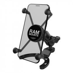 Мото стойка за телефон RAM-MOUNTS X-Grip B-410-A-UN10BU с монтиране на резервоар.
