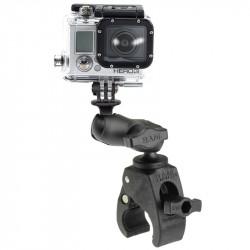Мото стойка RAM-MOUNTS Tough-Claw RAP-B-400-A-GOP1U за екшън камери