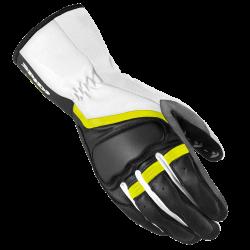 Дамски мото ръкавици Grip 2 leather  BLACK/FLUO
