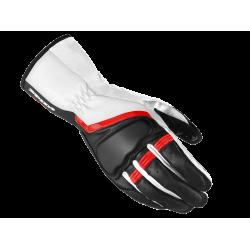 Дамски мото ръкавици Grip 2 leather  BLACK/RED