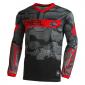 Детска мотокрос блуза O'NEAL ELEMENT CAMO V.22 BLACK/RED