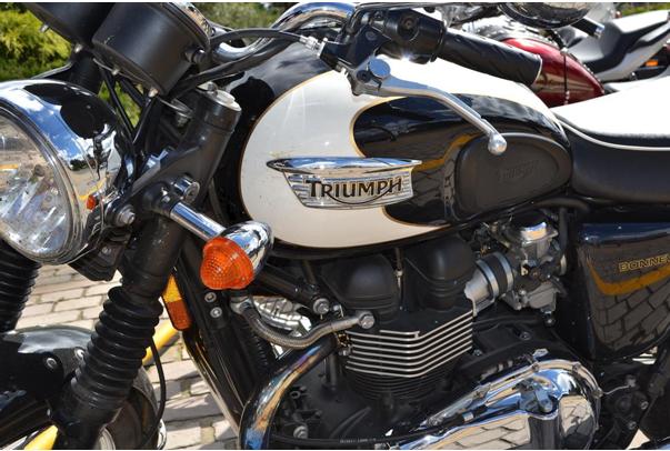 Мотоциклетите Triumph